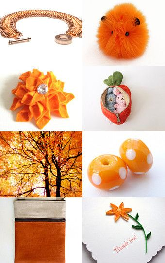 Outrageous Orange!--Pinned with TreasuryPin.com