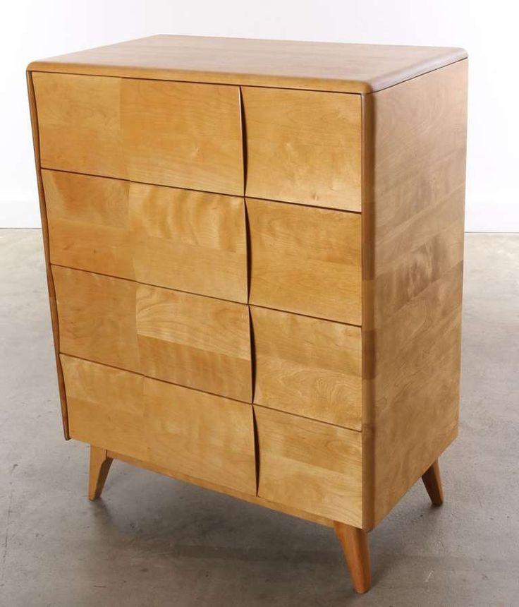 heywood wakefield bedroom set value maple furniture modern rio