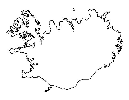 Iceland pattern. Use the printable outline for crafts, creating stencils, scrapbooking, and more. Free PDF template to download and print at http://patternuniverse.com/download/iceland-pattern/