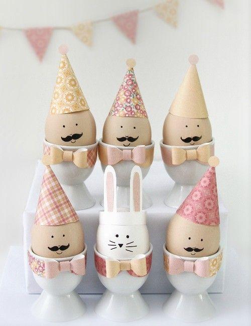 40 façons originales de décorer vos œufs de Pâques Moma le blog / DIY Easter 40 decorating eggs
