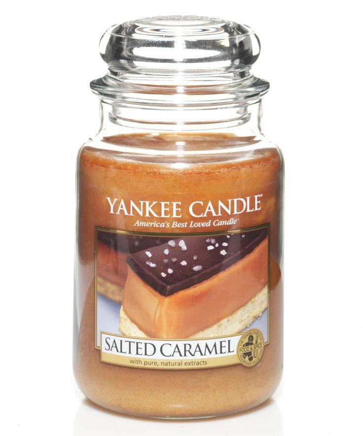 Look at this #zulilyfind! Salted Caramel 22-Oz. 6.6'' Jar Candle by Yankee Candle #zulilyfinds