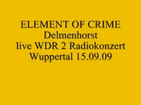 Element of Crime live-Delmenhorst