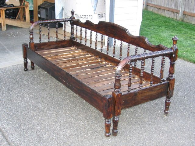 Collectibles-General (Antiques): Jenny Lind Daybed, jenny lind, mattress support