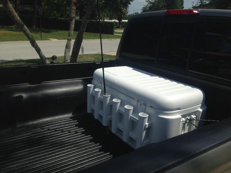 Fishing Rod Holder Cooler Picsant Fishing Pinterest
