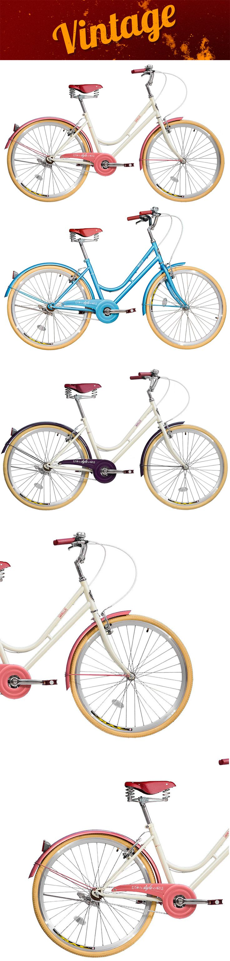 Bicicleta vintage blitz novello bike retrô
