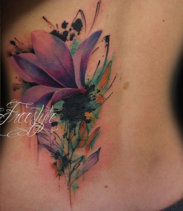Exotic Flower Tattoos: 670 Best Images About Flower Tattoos On Pinterest