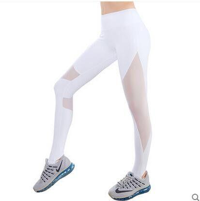 Women Yoga Pants Yogi Leggings For Woman Sport Tight Mesh Yoga Leggings