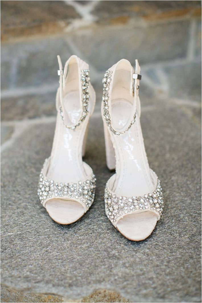Bridal Shoes | Classic Elegance Newport Beach Military Wedding at Pacific Club | Click to see more