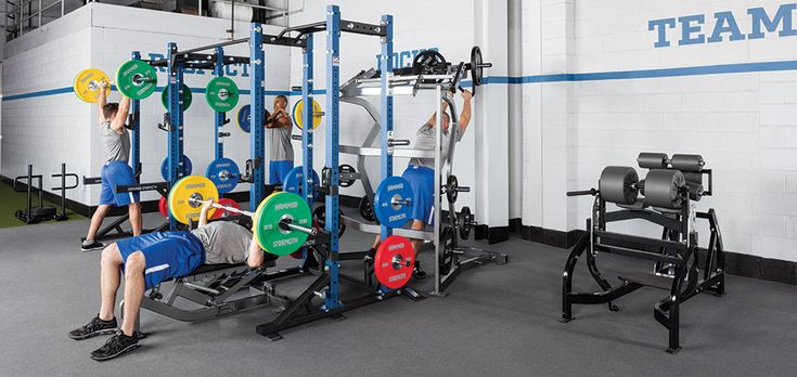 Hammer Strength HD Athletic Half Rack Combo