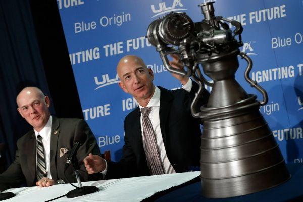 Компания основателя Amazon Безоса будет выпускать двигатели для космических кораблей
