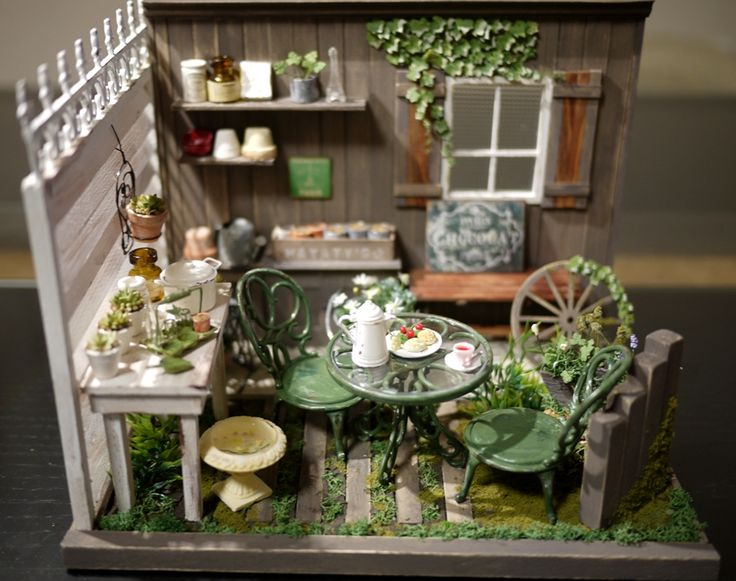 17 Best Images About Doll House Flowers Amp Gardens On