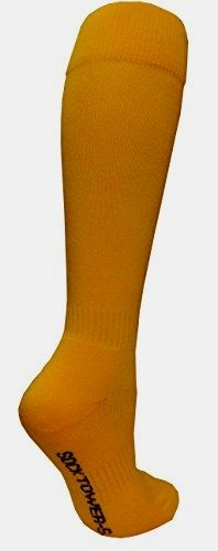Socktower #Women's Sports #Baseball Softball Plain Knee High Socks (SHOE Size 6-13, Golden Yellow) Made by #SockTower Color #Golden Yellow. Sock S=Women Shoe Size=3-6/ Men=4-6/ Youth Kid =12-4. Best to fit Foot= 7.12'' to 8.75''. FOOT LENGTH: Before Stretch= 6.5''. After=8.5''. CALF LENGTH: Before Stretch= 12.5''. After=15.5'' (try on model foot =8.5'').