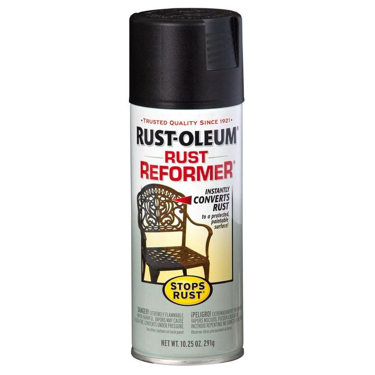 Rust-Oleum Stops Rust Black Rust Resistant Primer Spray Paint (Actual Net Contents: 10.25-oz)