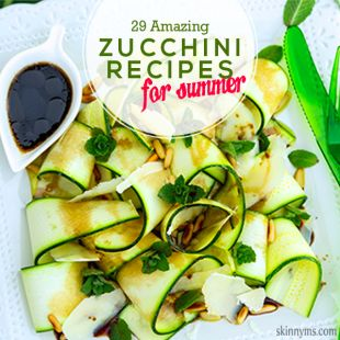 29 Amazing Zucchini Recipes for Summer! Wonderful round up! Seriously fantastic recipes here...