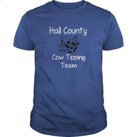 Hall County GA Cow Tipping Team TShirt - #sweats #white hoodie mens. GET YOURS…