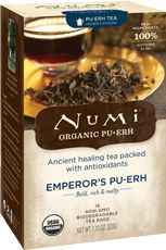 I absolutely adore this Pu-erh tea. It is good for a million reasons.