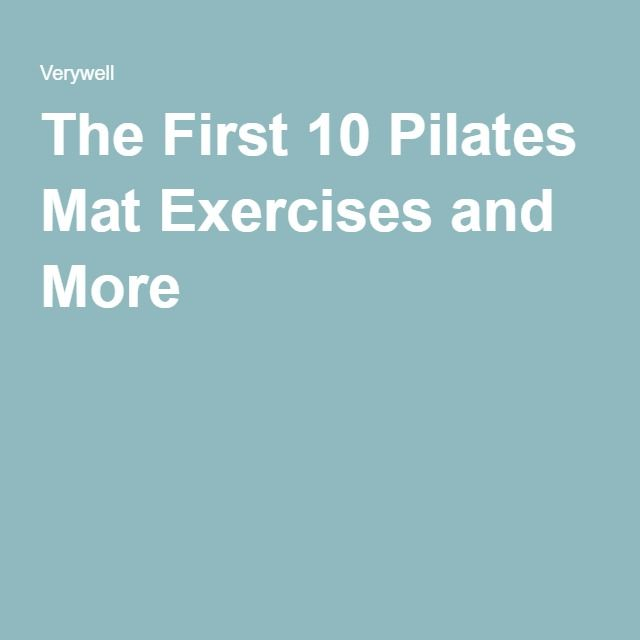 Best 20+ Pilates Mat Exercises Ideas On Pinterest