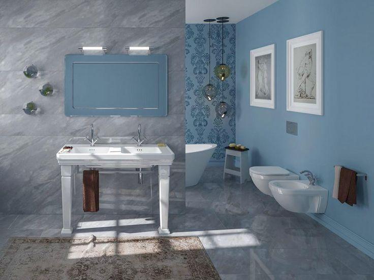 Catalano Canova Royal aranżacja łazienki w stylu klasycyzującym