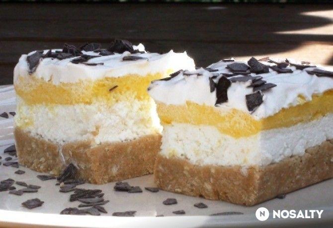 Habos emeletes szelet sütés nélkül