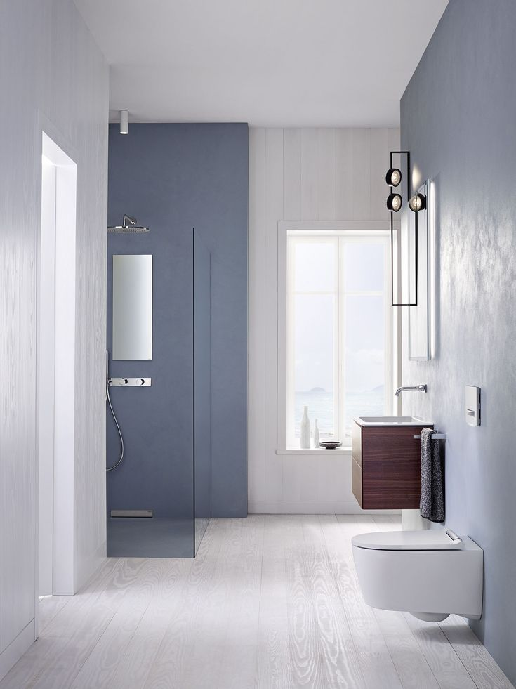 Blau   die Trendfarbe 2020 in 2020   Kleine badezimmer ...