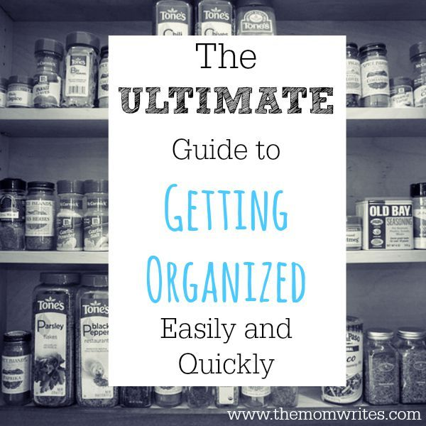 40 Frugal and Fast Organization Tips for the Time-Starved Mom