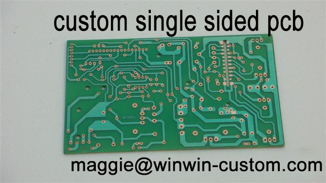 Free shipping 1pc custom pcb board service Best single sided pcb fr4 pcb from PCB Manufacture