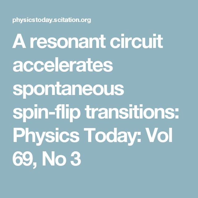 Reducing the radiative transition's time constant from thousands of years to a fraction of a second could benefit quantum information schemes.