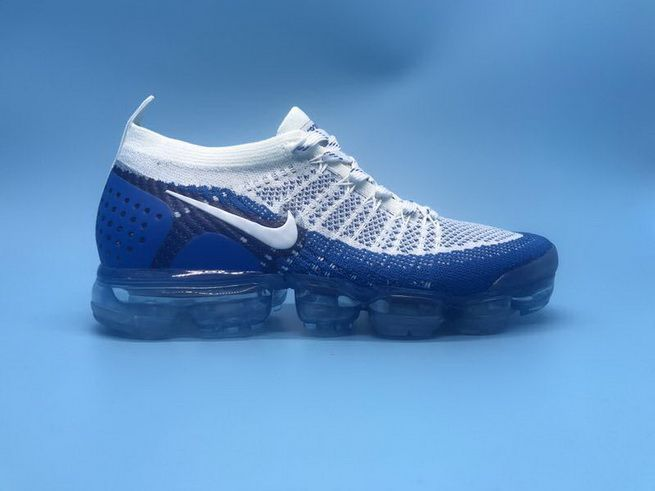 timeless design ee07f 55a01 Nike Air Vapormax Flyknit 2 Running Shoes Ice Blue White