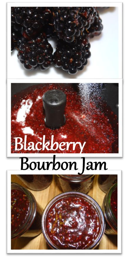 Wild Blackberry Bourbon Jam #Recipe (includes a FreshTECH Tutorial)