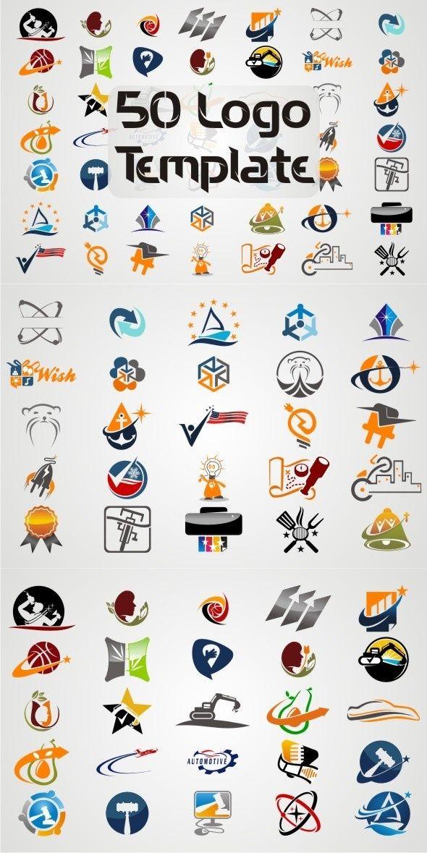 50 Logos Templates Vol 1