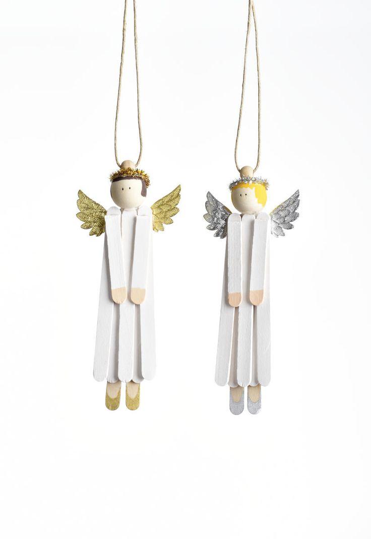 Änglar av glasspinnar - Lekolar Sverige