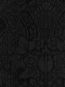 damask black textured wallpaper. $11.27