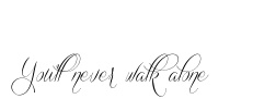 Maybe a different font.  I want this written in a pale pink (almost white) rose.  For my Grandma