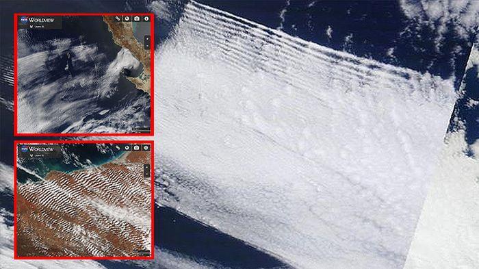 Imágenes de satélite de NASA demuestran que nuestro clima es manipulado       Como dice el refrán, una imagen vale más que mil palabras....