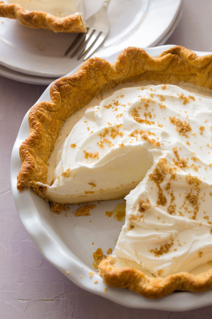Maple Chiffon Pie