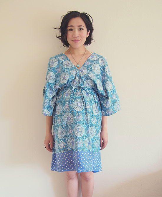Boho Kimono Free Dress Pattern