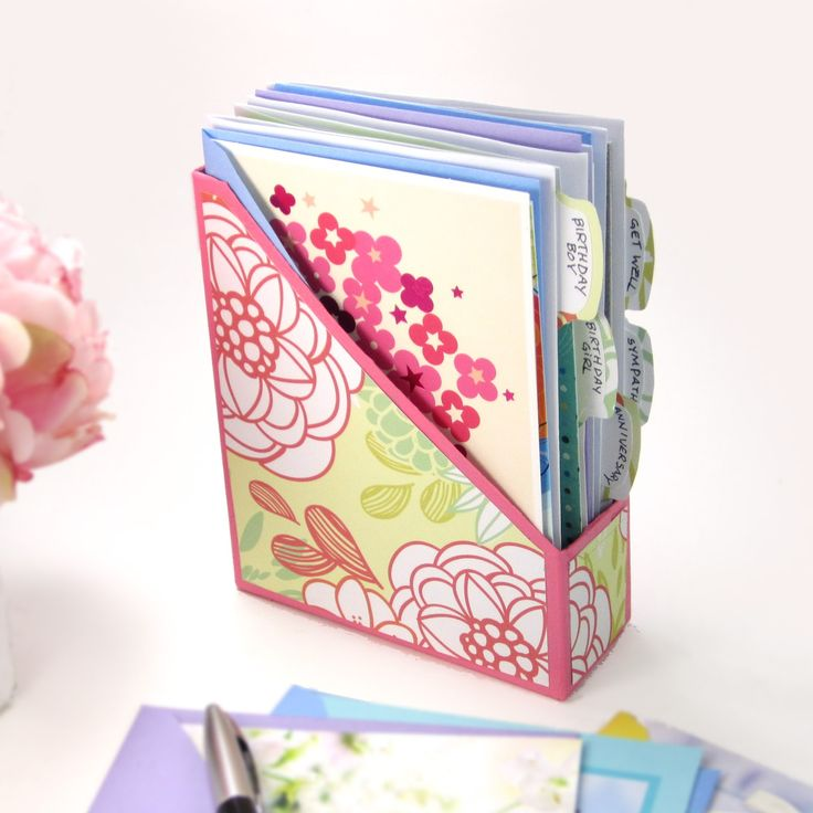 ideas about Greeting Card Organizer Card