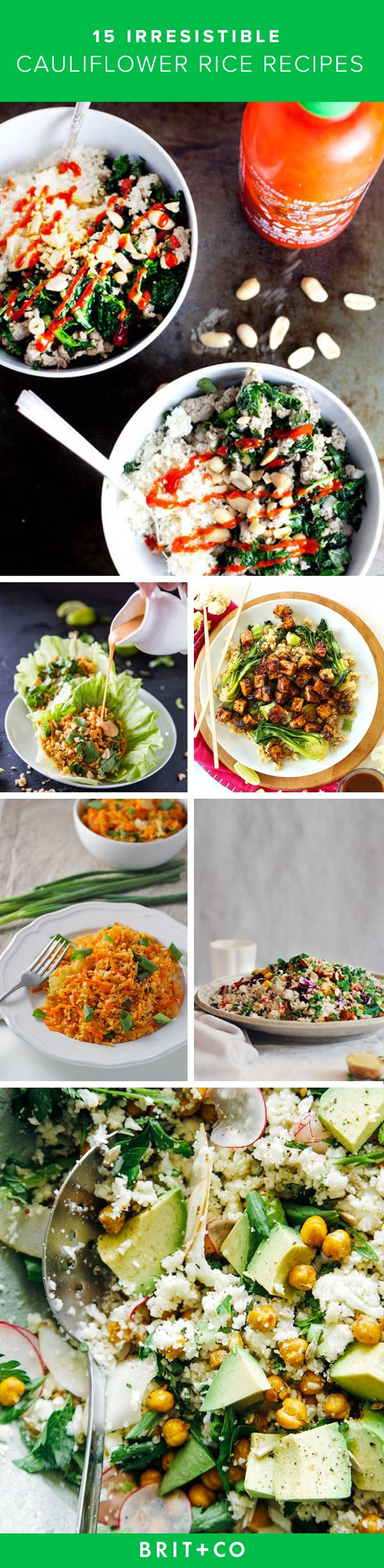 Save these cauliflower rice recipes to whip up for a healthy breakfast, lunch or dinner on any day of the week.