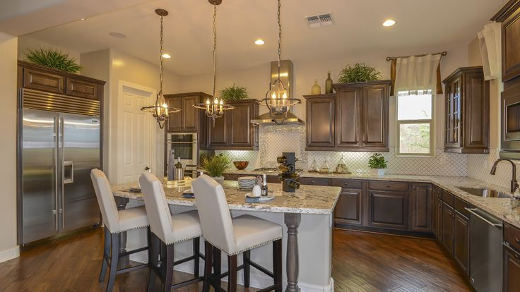 Stunning Kitchen By Taylor Morrison In The Stowe Model At
