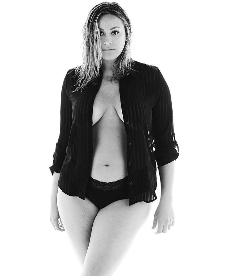 Plus size model Jennifer Maitland
