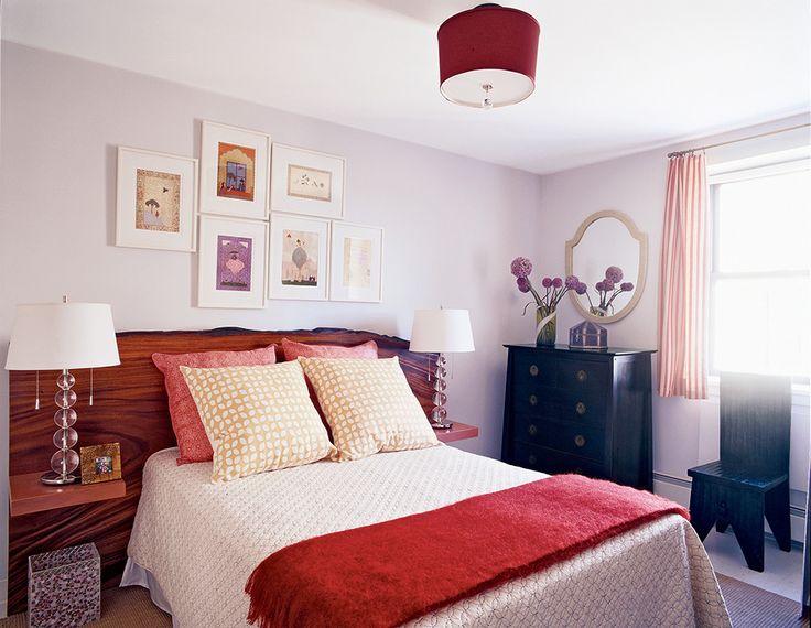 "bedroom paint color ideas on domino.com  ""Silver cloud"" by Benjamin Moore"