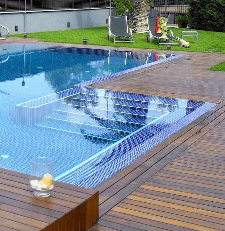 Dise o de piscinas sostenibles decoraci n pinterest - Losas para piscinas ...