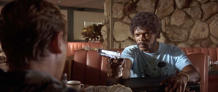 "pulpficion 254 ""Pulp Fiction"" (1994) Cinematographer: Andrzej Sekula"