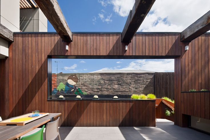 Fitzroy House | Techne Architects #outdoorliving
