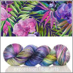 Bliss - alpaca silk dk yarn by expression fiber arts