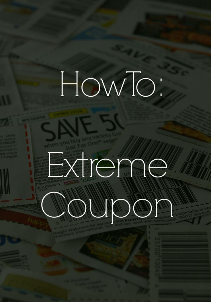 Wifessionals: How To Extreme Coupon: Store Coupon Policies & Things You Should Never Pay For