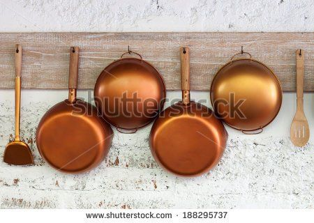 Hanging Pots And Pans Stock Photos, Royalty-Free Images & Vectors ...