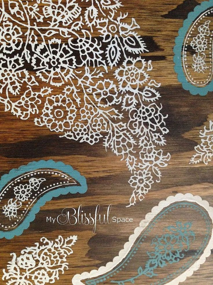 127 best images about wood stain art on pinterest stains - Painting with stencils on wood ...