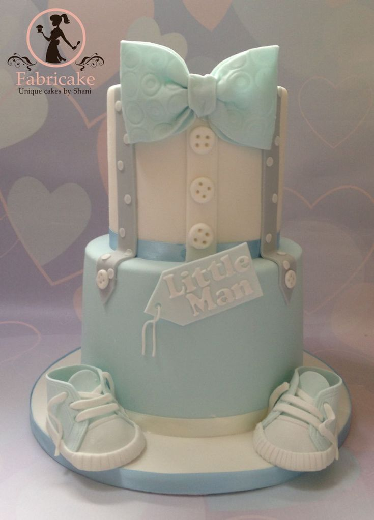 Lil Man Baby Shower Cakes : shower, cakes, Little, Shower, Cakes, Boys,, Cupcakes, Pastel
