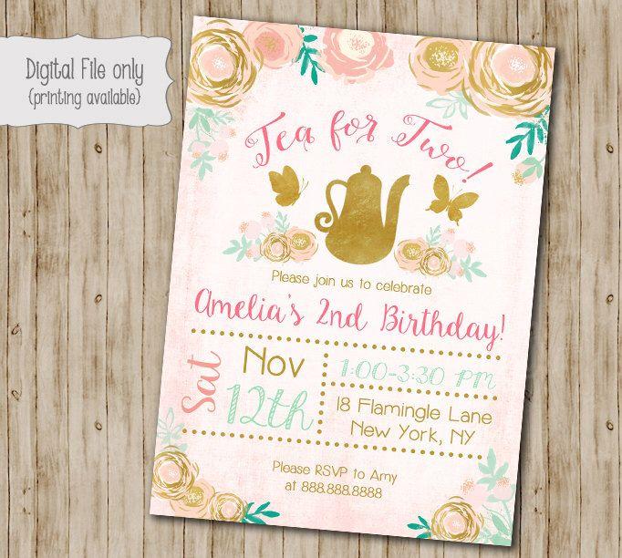 the 25+ best girl birthday invitations ideas on pinterest | girl, Birthday invitations